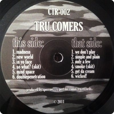 Download Tru Comers Ctr 002 2011 For Free Rap Mp3