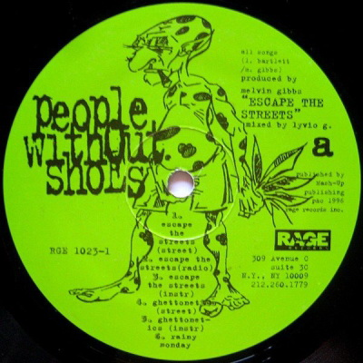 Download People Without Shoes - Escape the Streets (1996) [Vinyl